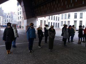 The Privilege Walk - 8 March - Women's day - Gent
